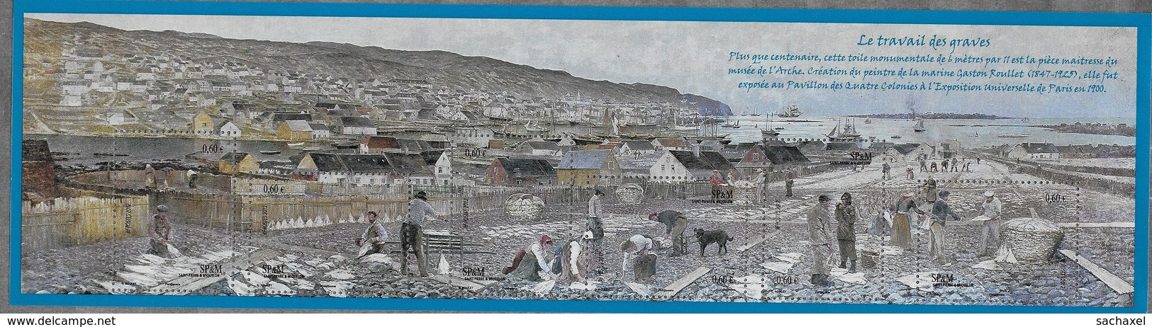 2011  2012  Saint Pierre Et Miquelon N° BF 18 , 19 , 20    Nf**  MNH . - Blocks & Kleinbögen