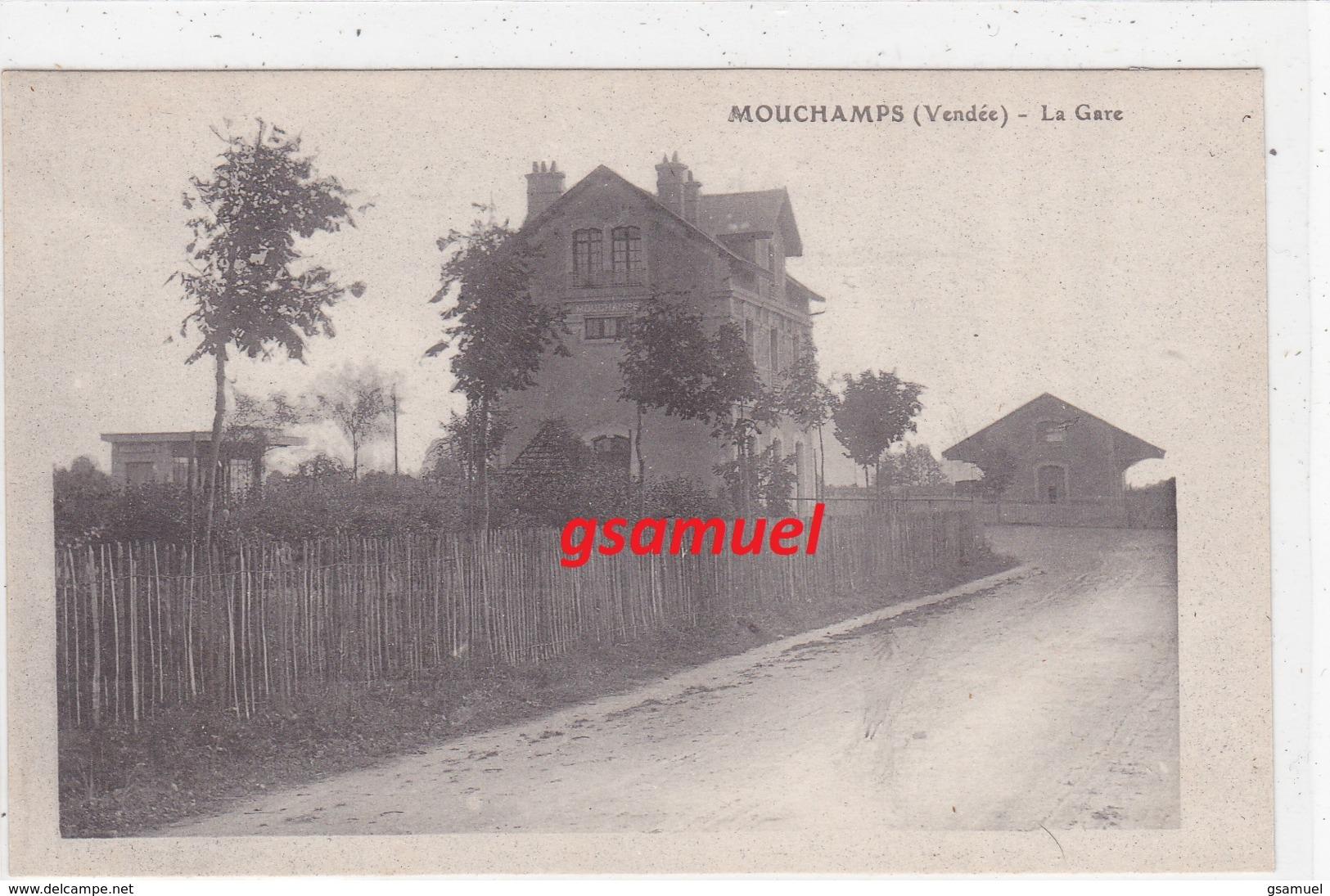 85 - Mouchamps La Gare   (voir Scan) - France
