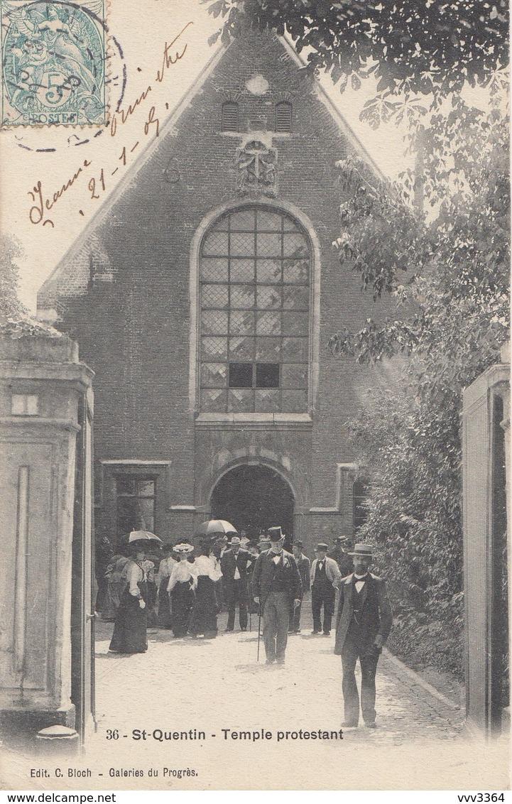 SAINT-QUENTIN: Temple Protestant - Saint Quentin
