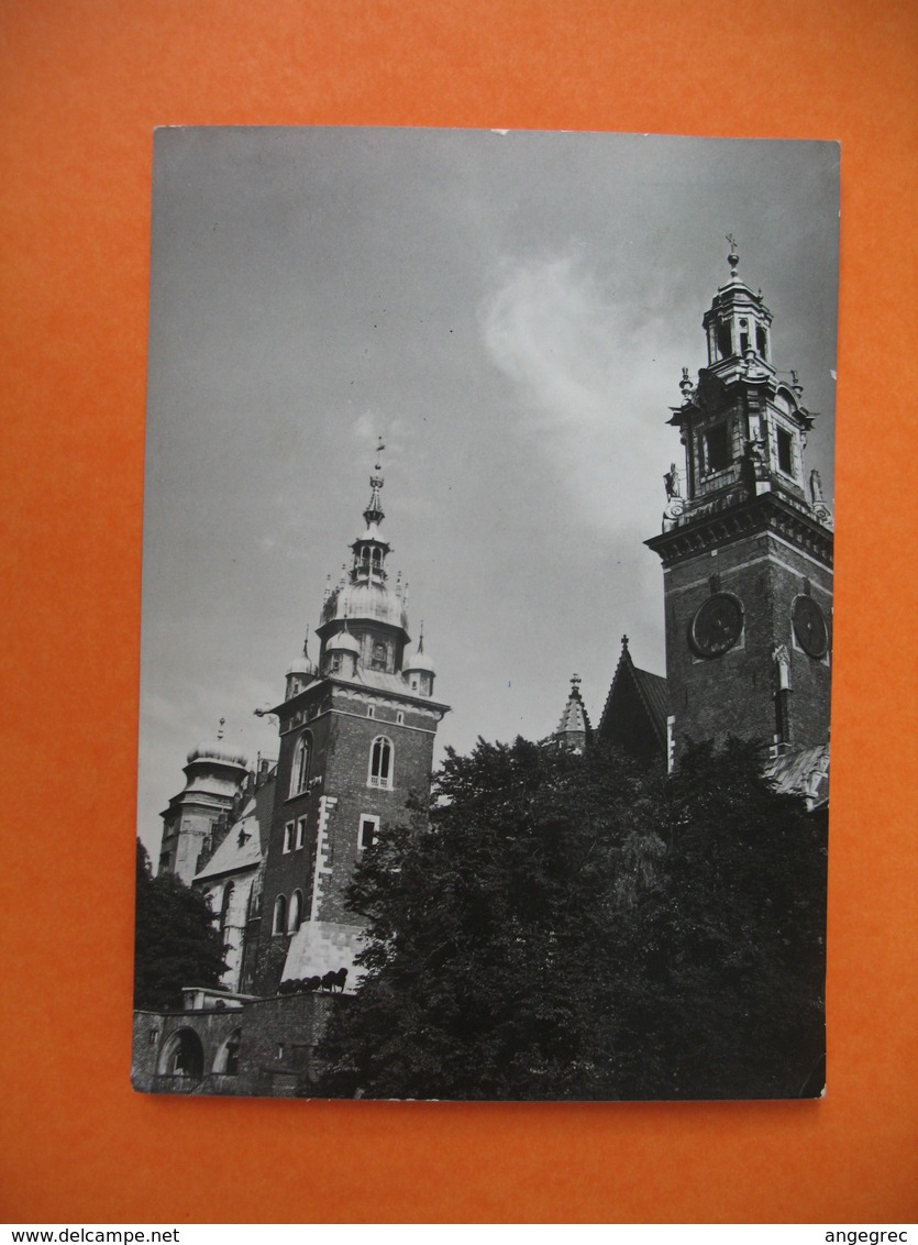 CPA  Krakow  Cracovie  - Monuments - Monuments