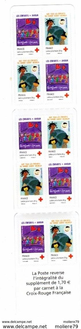 Carnet N° 145, Croix Rouge Dessines Ton Voeux - Usage Courant