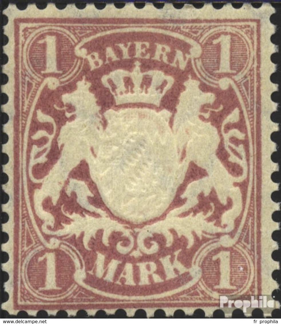 Bavière 71 Avec Charnière 1911 Etat Emblem - Bayern