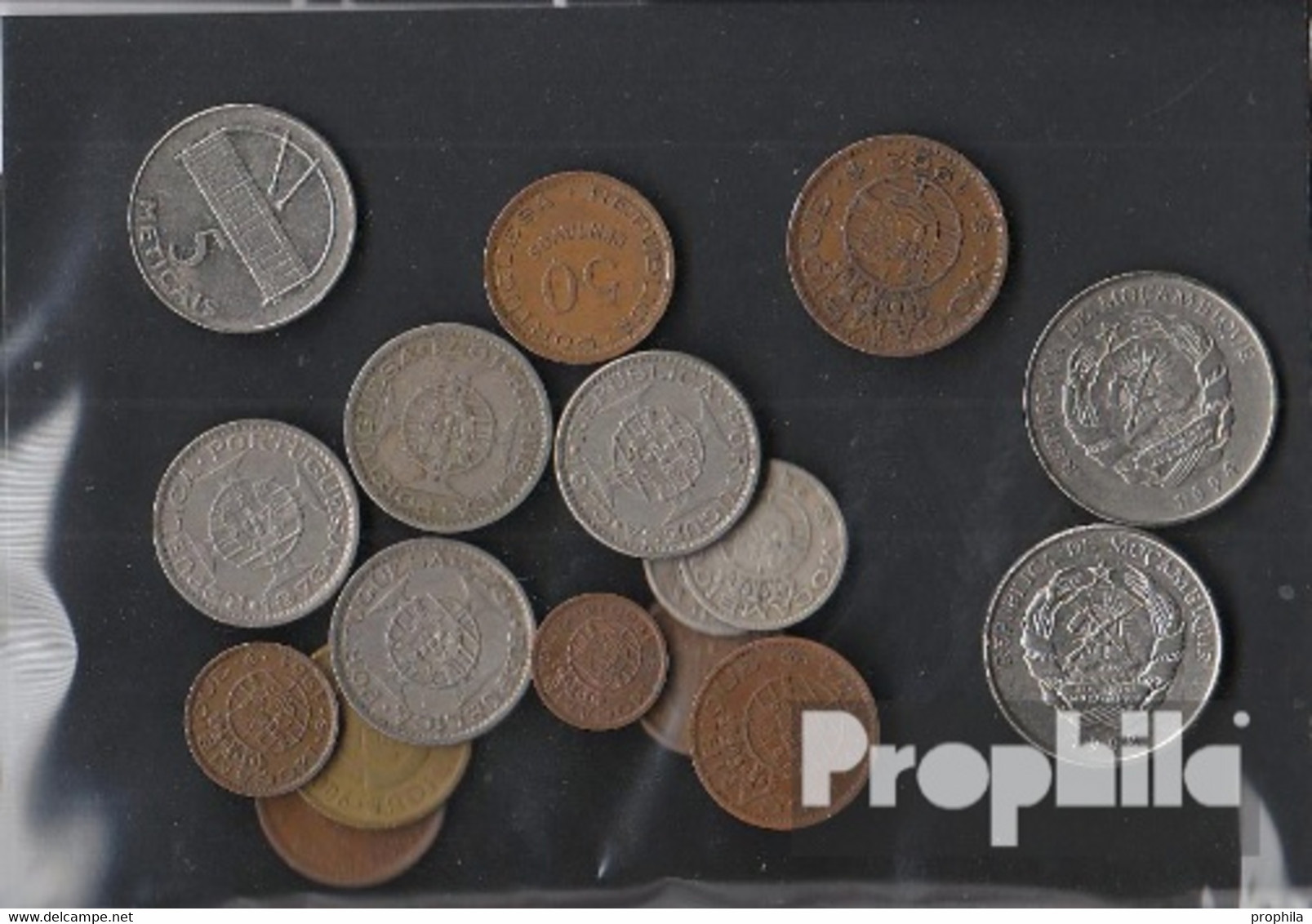 Mosambik 100 Gramm Münzkiloware - Munten & Bankbiljetten