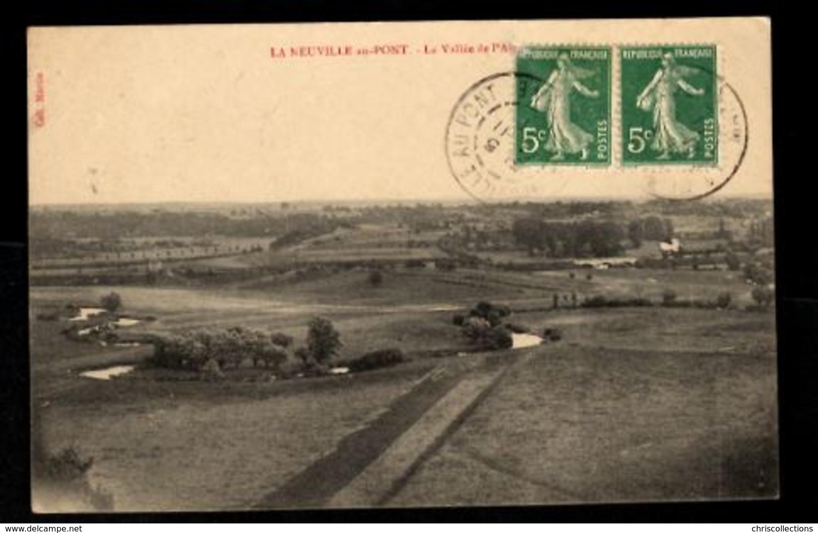 51 - LA NEUVILLE AU PONT -  La Vallée De L'Aisne - Other Municipalities
