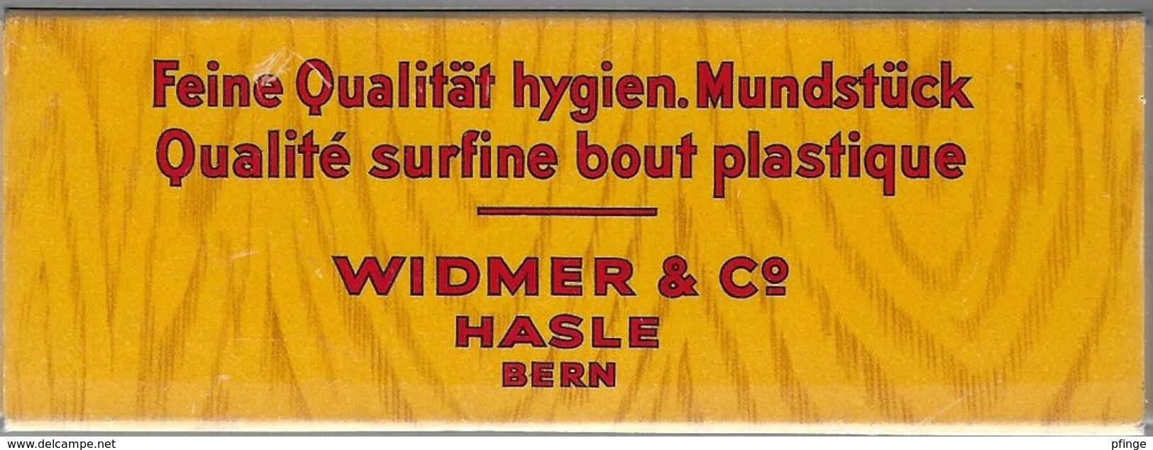 Boîte Vide De Cigares Noblezza - Wico (Widmer 1 C° Hasle Bern ) - Contenitore Di Sigari