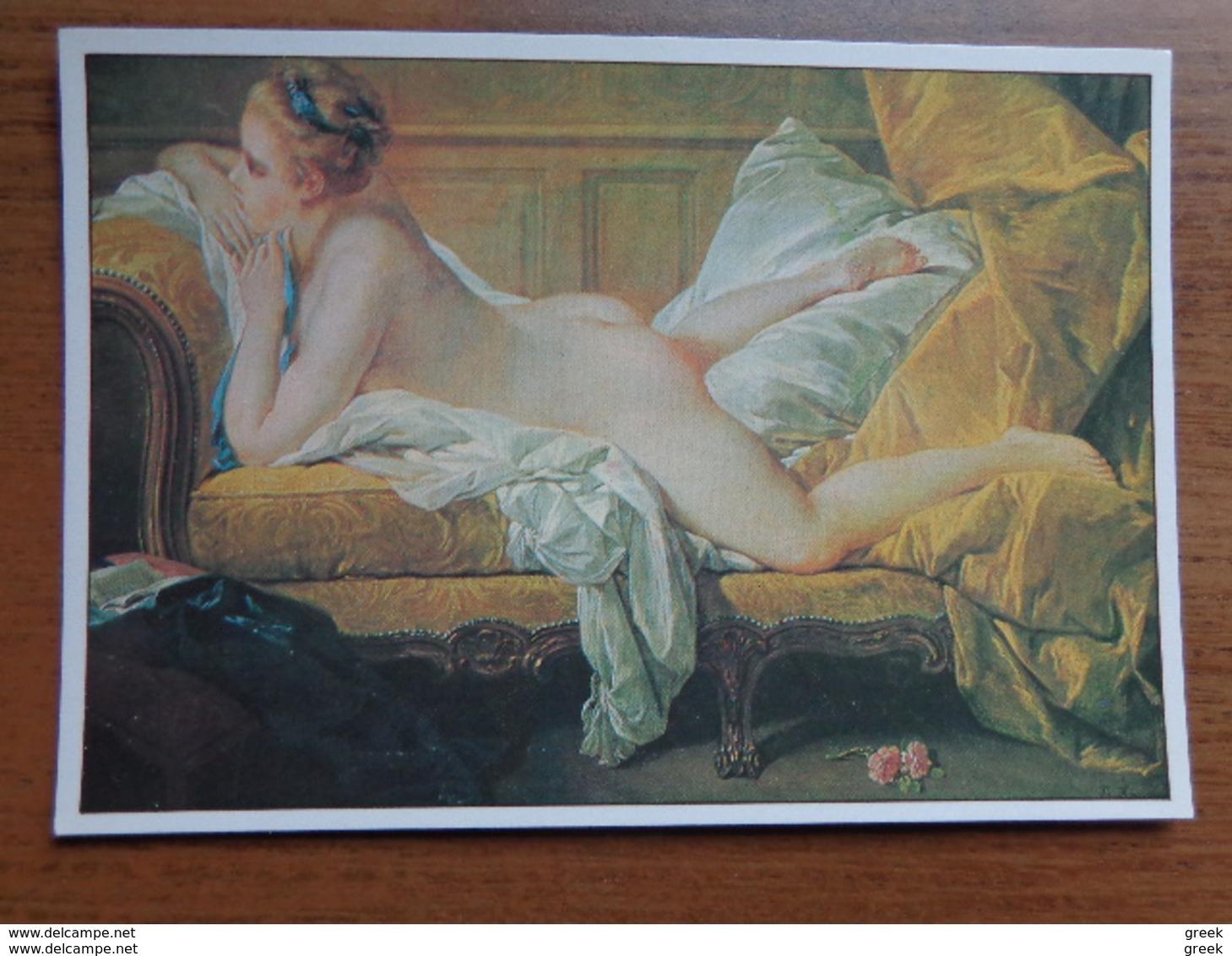 38 Kaarten Met NAAKT - NUDE - NAKED (Kunst) Zie Foto's - Cartes Postales