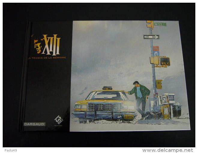 XIII TREIZE(Vance Van Hamme)- La Traque De La Mémoire- 1ere Ed° Hors Commerce - XIII
