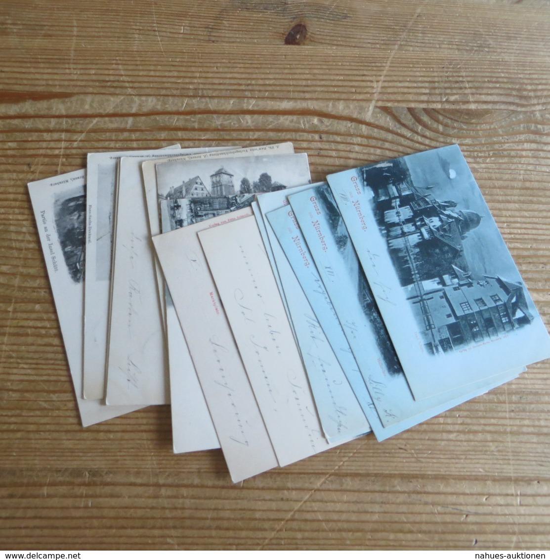 Ansichtskarten Sammlung Nürnberg Kettensendung An Eine Adresse Gesamt 14 Stück - 5 - 99 Karten