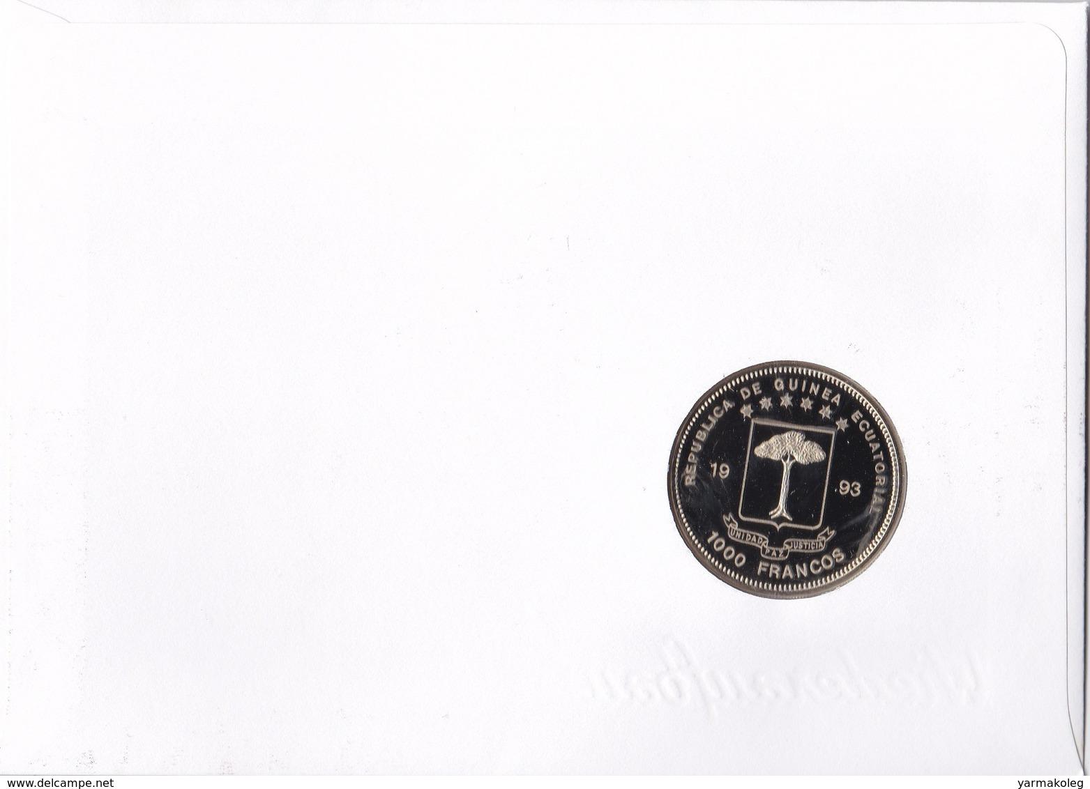 Equatorial Guinea 1000 Francs 1993 - Guinée Equatoriale