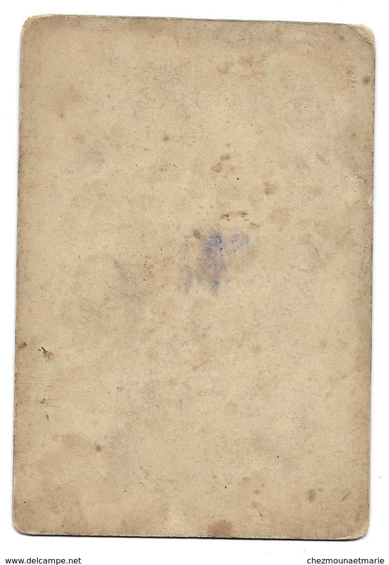 PARIS LE 14 JUILLET - MONTGOLFIERE BALLON VUE PRISE DE LA MAIRIE DU 18EME ARRONDISSEMENT - CDV PHOTO 14 X 9.5 CM - Places