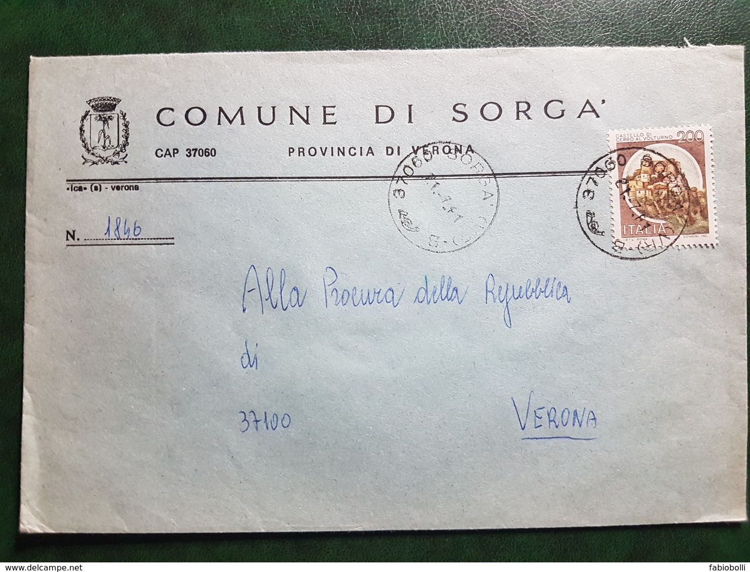 (14865) STORIA POSTALE ITALIA 1981 - 6. 1946-.. Repubblica