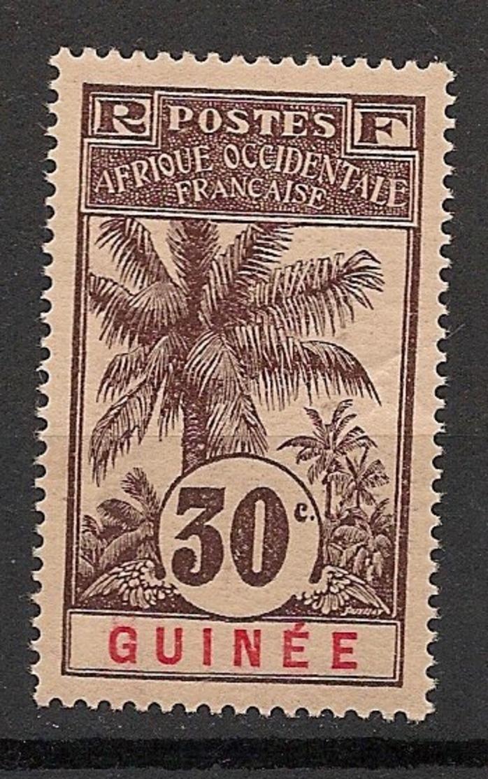 Guinée - 1906 - N°Yv. 40 - Palmier 30c - Neuf Luxe ** / MNH / Postfrisch - Ungebraucht