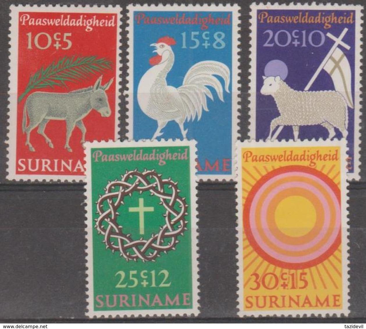 SURINAM - 1971 Easter. Scott B172-175. MNH ** - Surinam ... - 1975