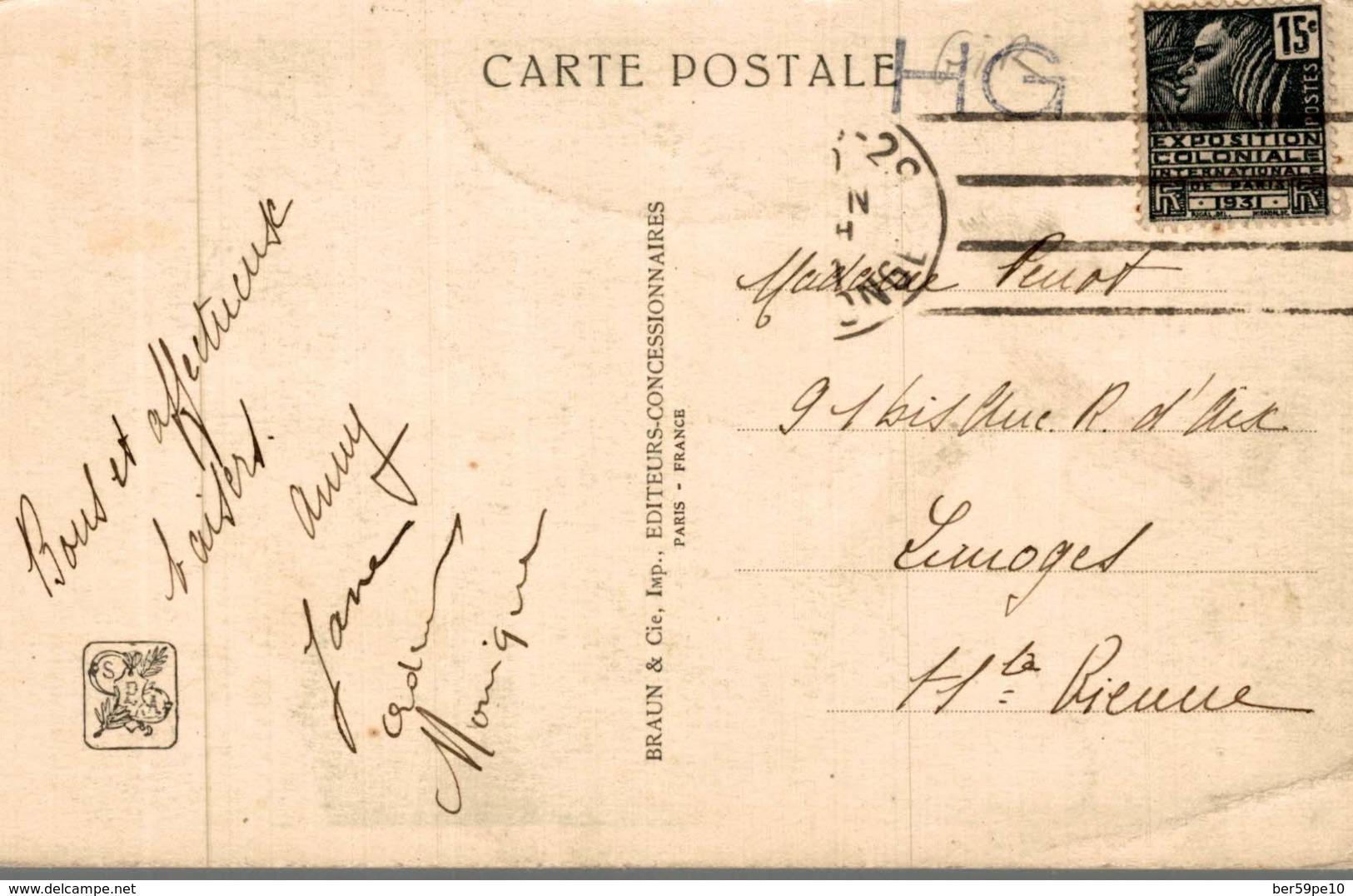 EXPOSITION COLONIALE INTERNATIONALE PARIS 1931  ANKOR VAT  TOUR NORD-OUEST - Exposiciones