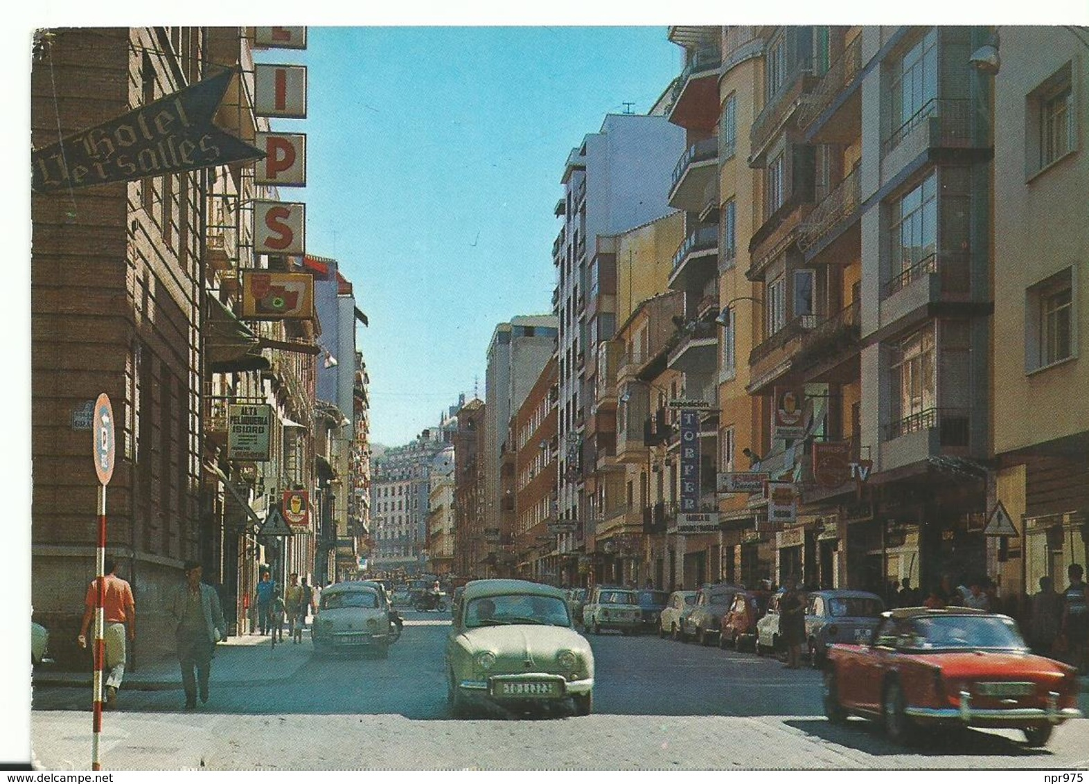 Espagne Granada Calle  De Recogidas Et Ses Vieilles Voitures - Granada