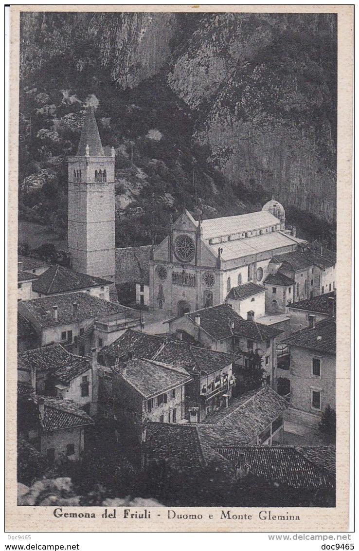 Cartolina Gemona Del Friuli (UD) 1941 - Italia