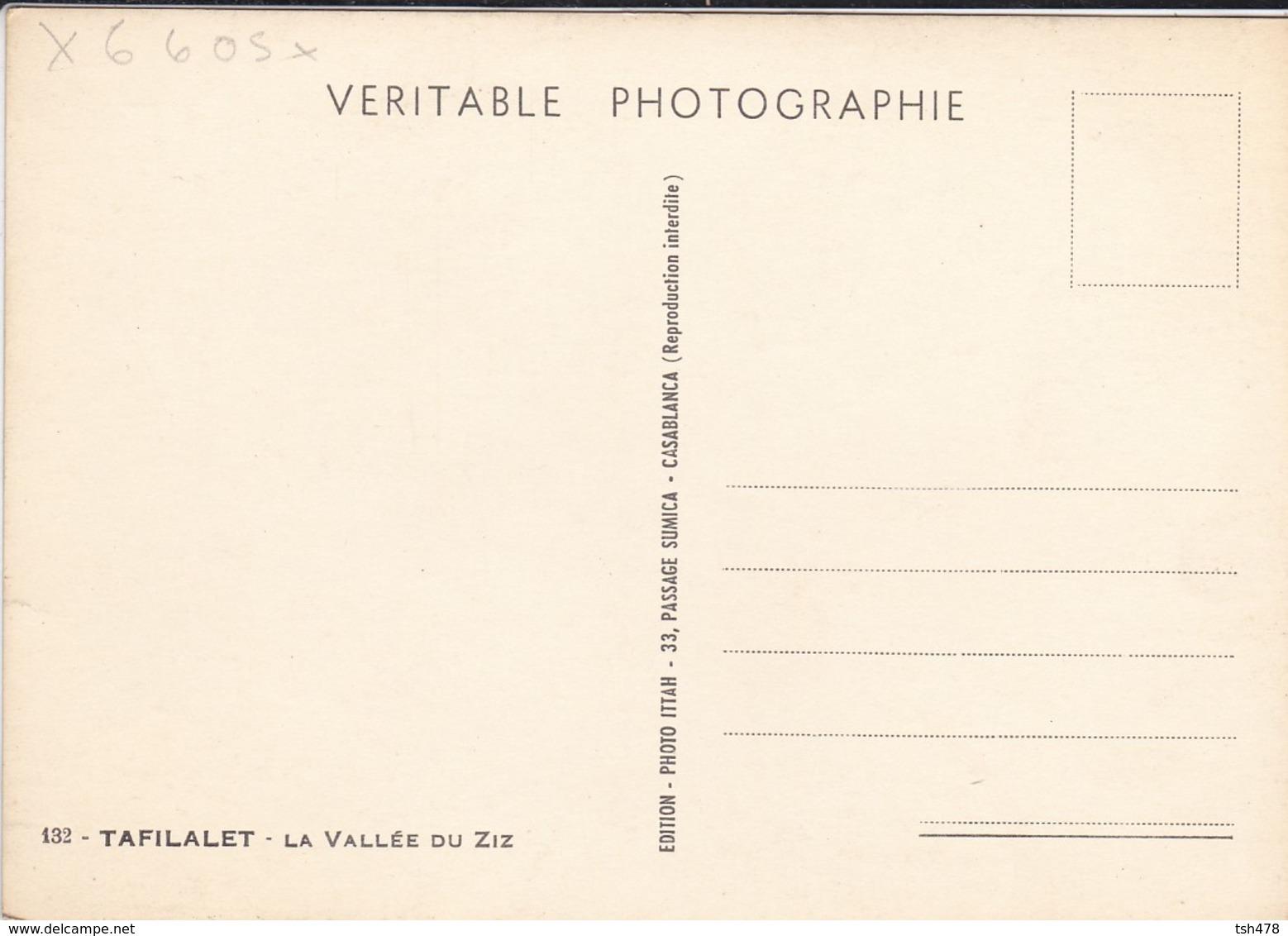 MAROC---RARE---TAFILALET--la Vallée Du Ziz---voir 2 Scans - Autres