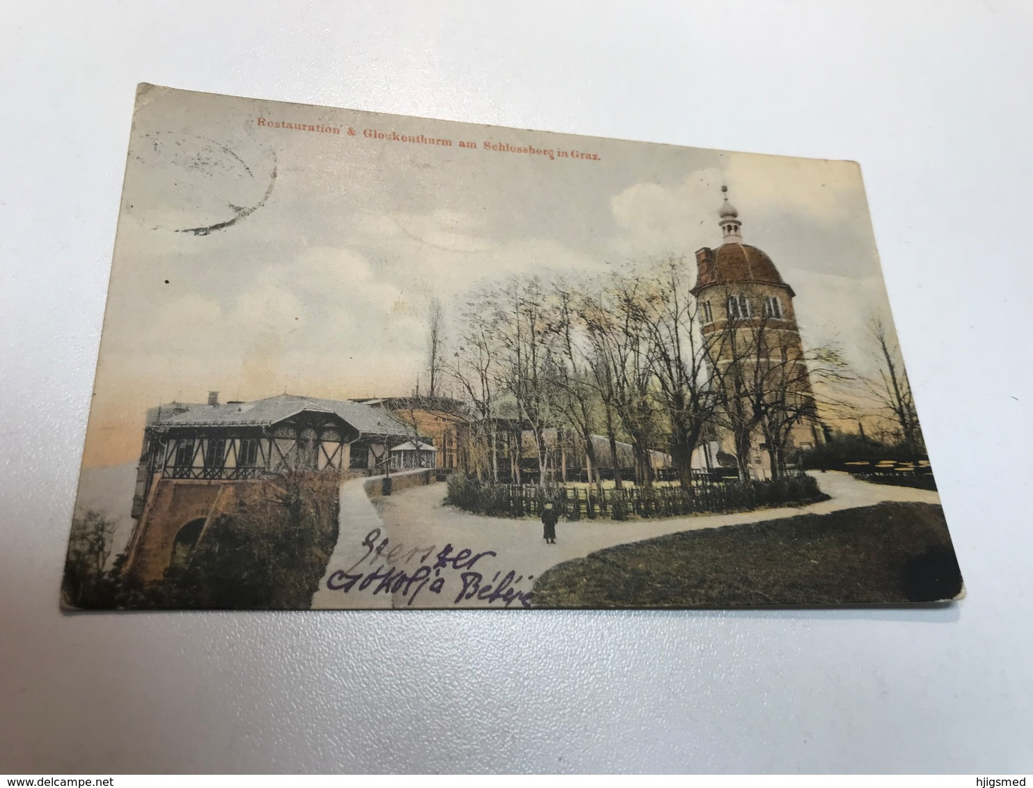 Austria Österreich Graz Restauration Turm Thurm Schloss Berg 0144 Post Card Postkarte POSTCARD - Graz