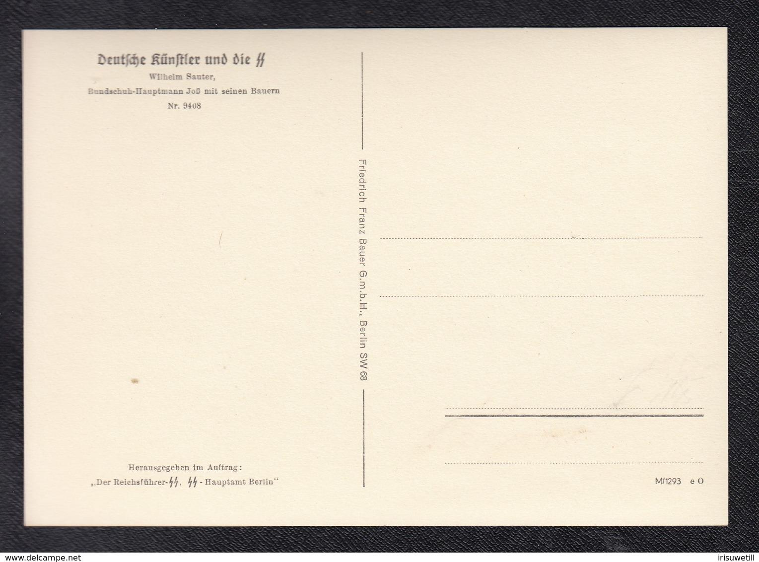 DR Ausstellung SS / Hauptmann Joß - Guerre 1939-45