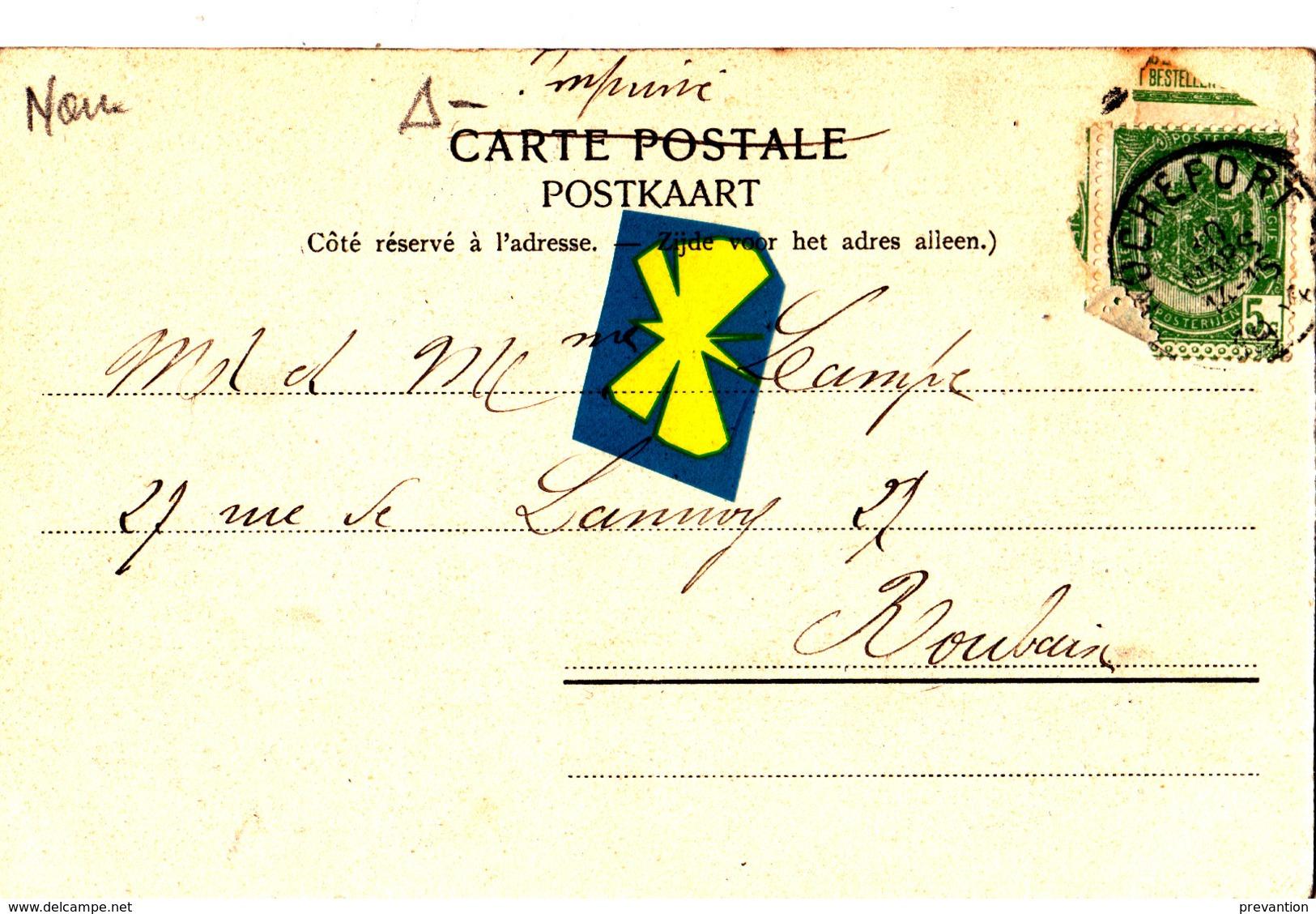 ROCHEFORT - Une Rue Du Village - Carte Circulée En 1904 - Rochefort