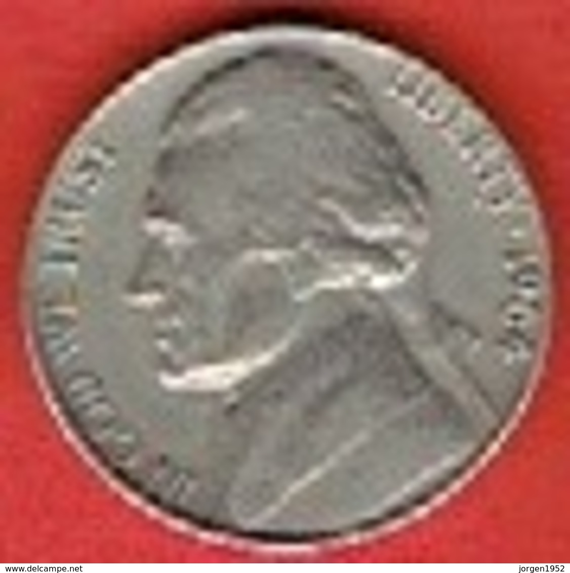 """UNITED STATES  # 5 Cents """"Jefferson Nickel"""" 1st Portrait FROM 1964 - Federal Issues"""