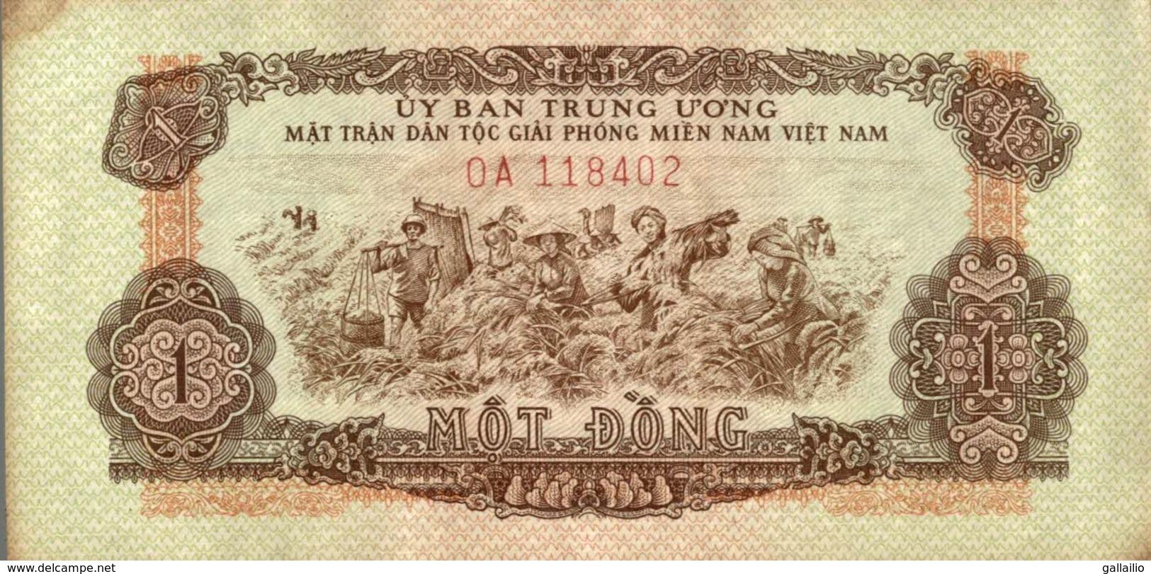 Vietnam Billet Viet Nam 1 Mot Dong
