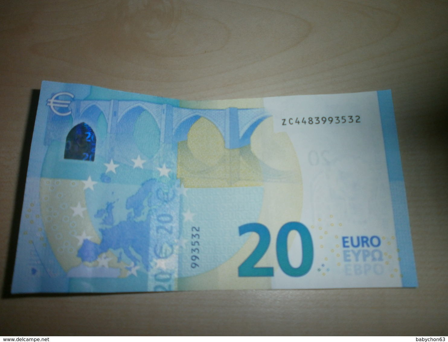 20 EUROS (Z Z020 E1) - EURO