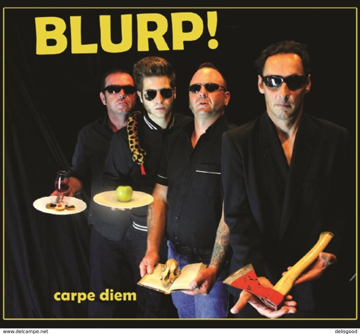 BLURP!   : Carpe Diem :: CD Rock Psychobilly Punk Rock Style Les Wampas - Rock