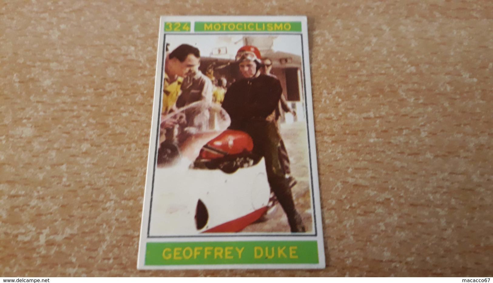 Figurina Panini Campioni Dello Sport 1967 - Geoffrey Duke - Panini