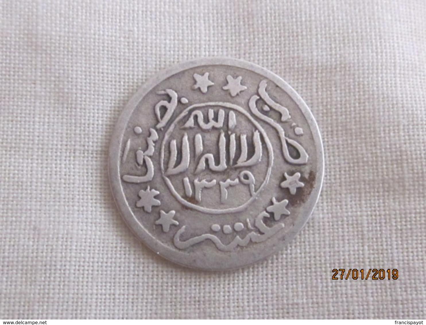 Yemen/ Imamat Mutawakkilite: 1/10 De Riyal 1339 (rare) - Yémen