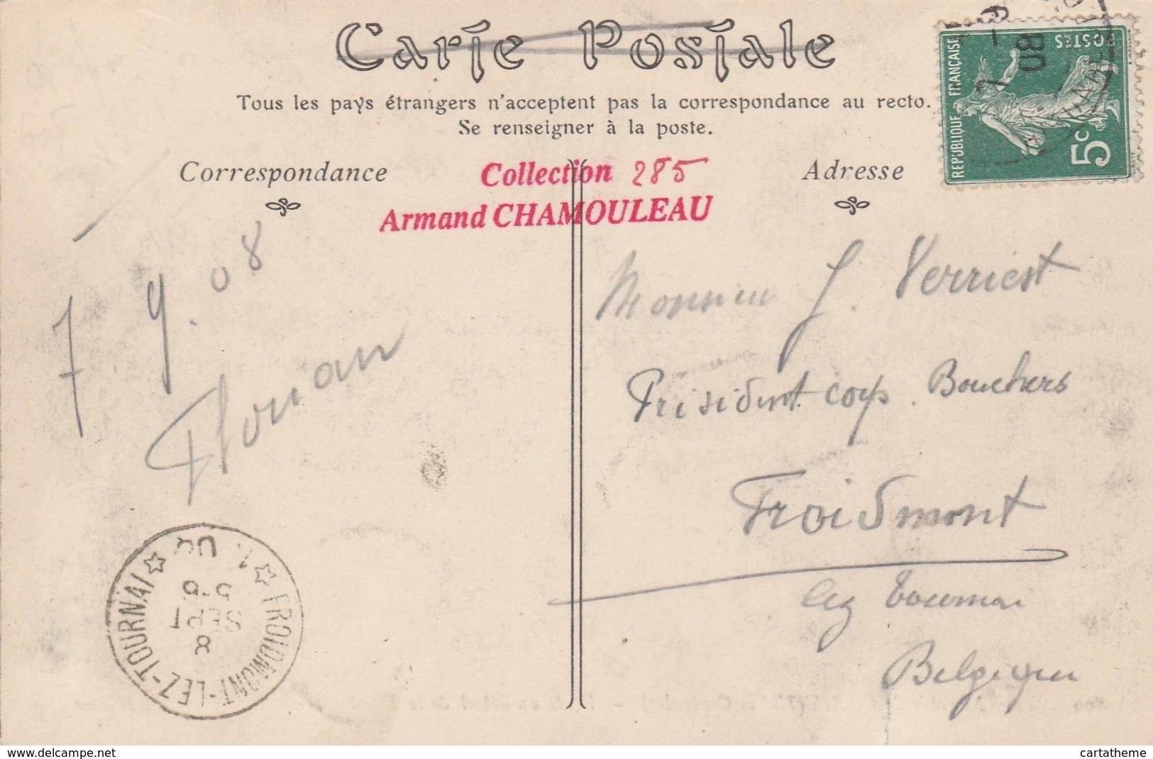 CPA - Boucherie, Vente Au Détail - Halles De Paris - Halles