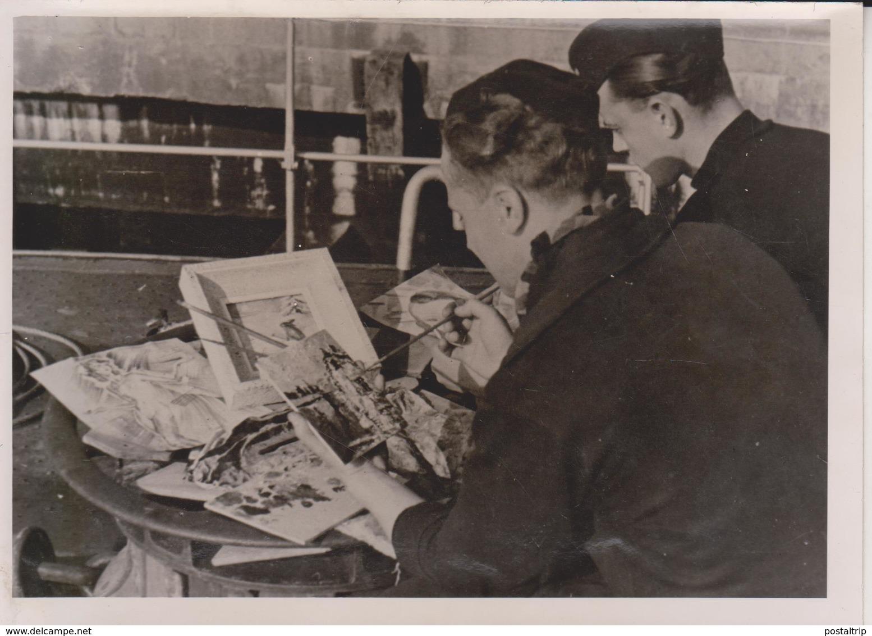 BASTLER WETTSTREIT TORPEDOBOOT  KRIEGSMARINE FOTO DE PRESSE WW2 WWII WORLD WAR 2 WELTKRIEG - Guerra, Militari
