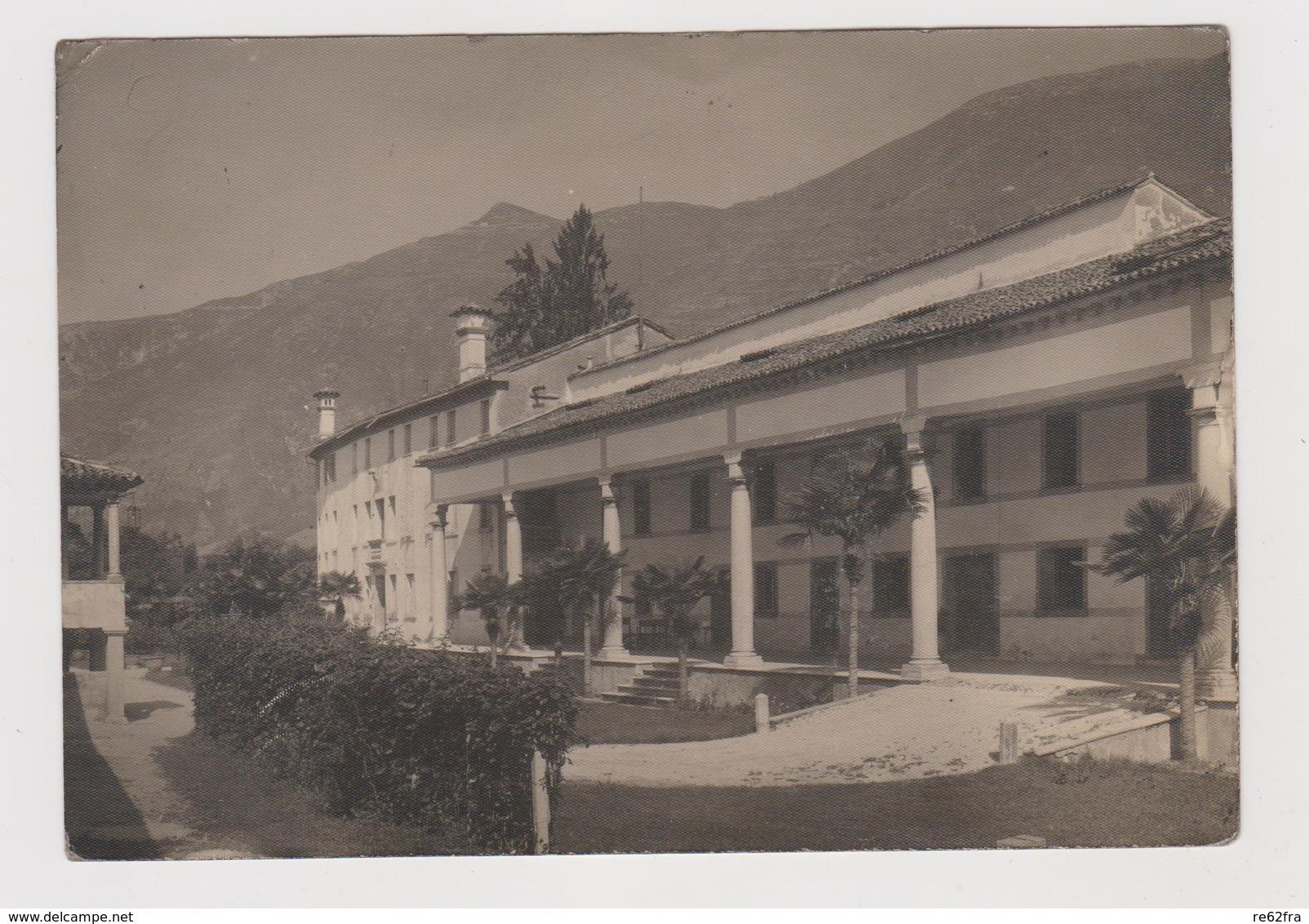 CRESPANO Del GRAPPA  (TV), La Gherla Villa Manfrotto Canal, Fotografica Bresolin  - F.G. - Anni  '1940 - Treviso