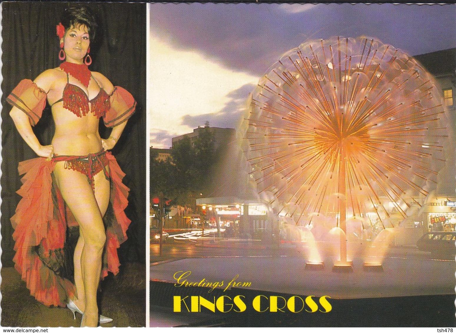 "AUSTRALIE---RARE--SYDNEY--king Cross--"" Sorita "" El Alamein Fountain--voir 2 Scans - Sydney"