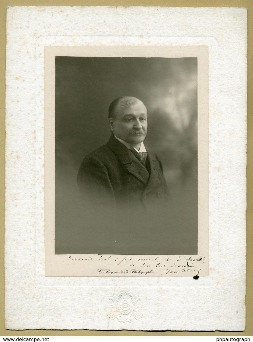 Georges Courteline (1858-1929) - Dramaturge Français - RARE Photo Dédicacée - Autographes