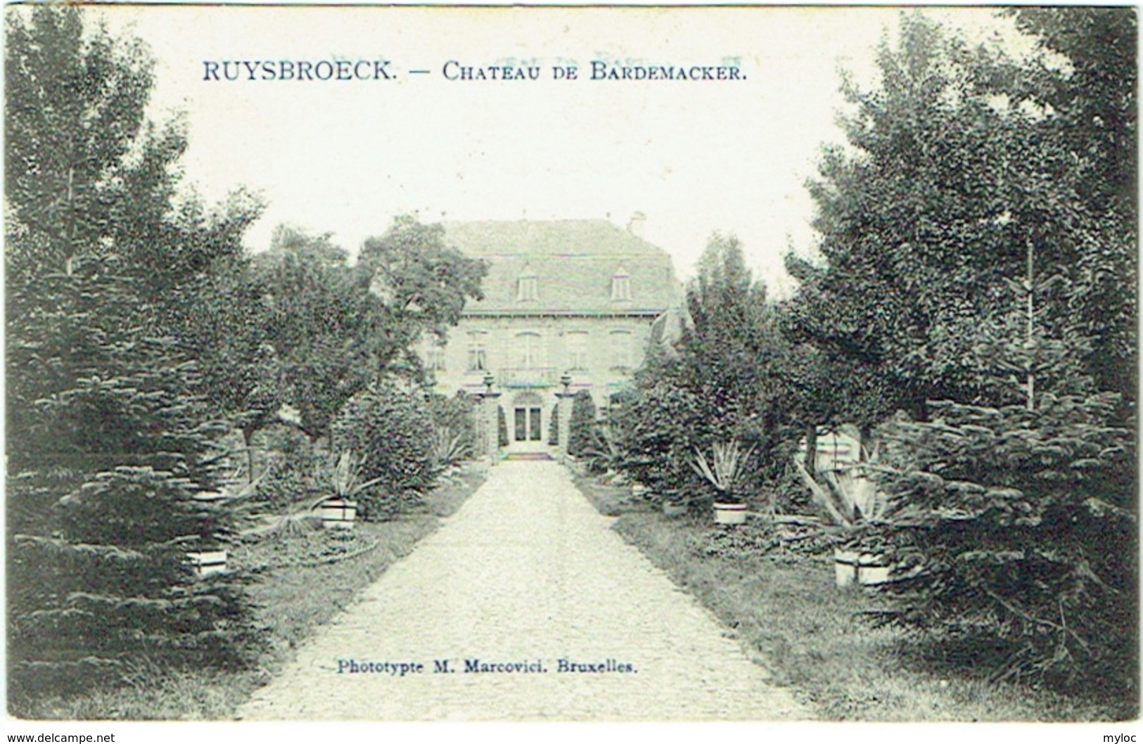 Ruisbroek. Ruysbroeck. Château De Bardemacker. - Sint-Pieters-Leeuw
