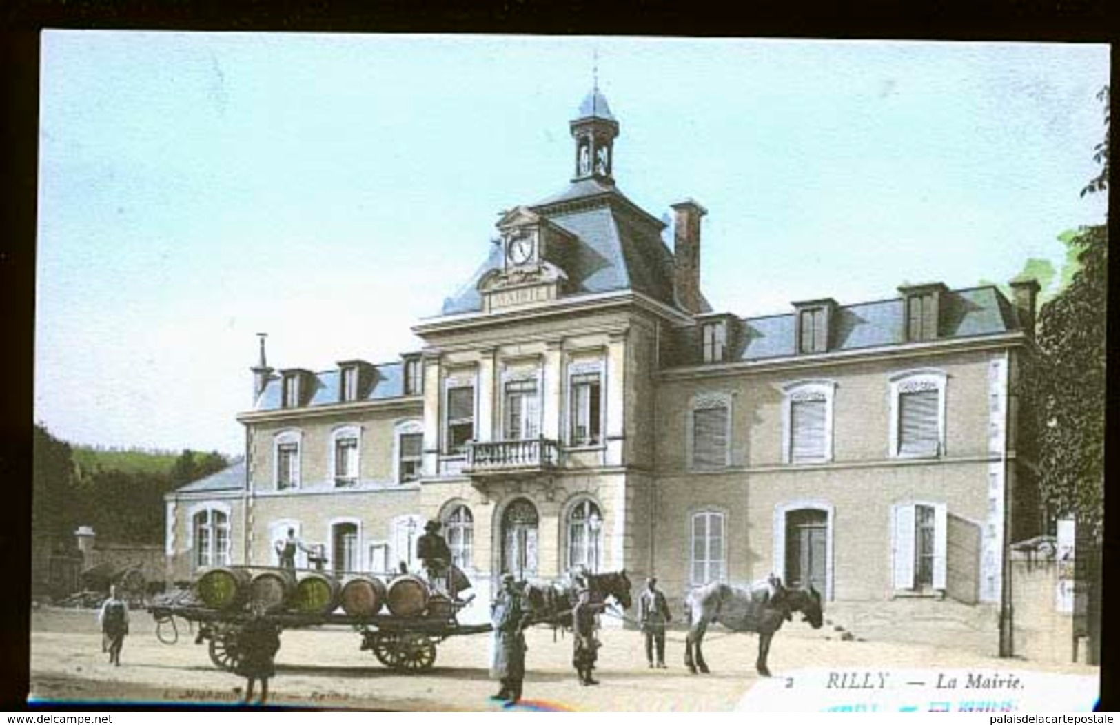 RILLY LA MONTAGNE ATTELAGE DE CHAMPAGNE                JLM - Autres Communes