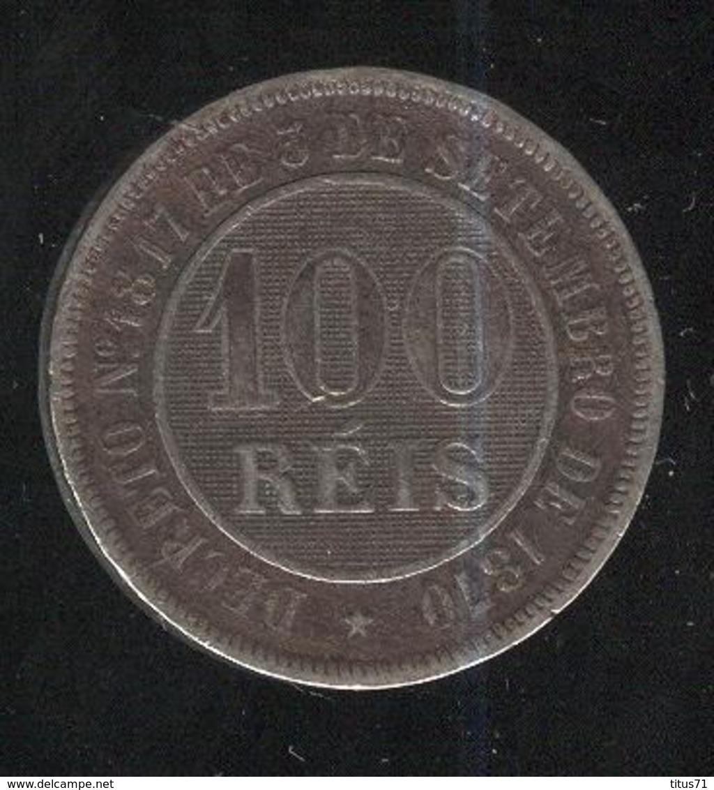 100 Réis Brésil / Brasil / Brazil 1886 - Brésil