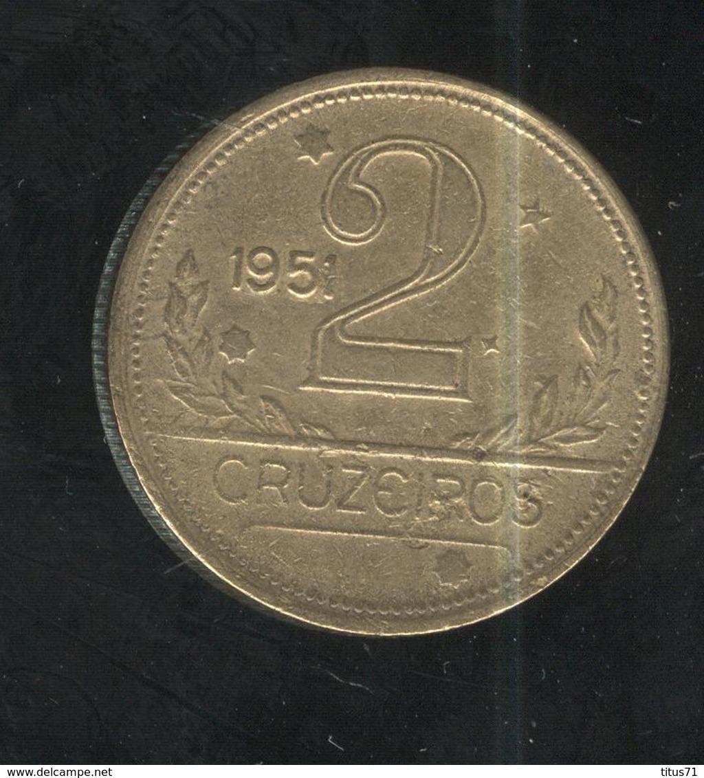 2 Cruzeiros Antigo Brésil / Brasil / Brazil 1951 SUP - Brésil