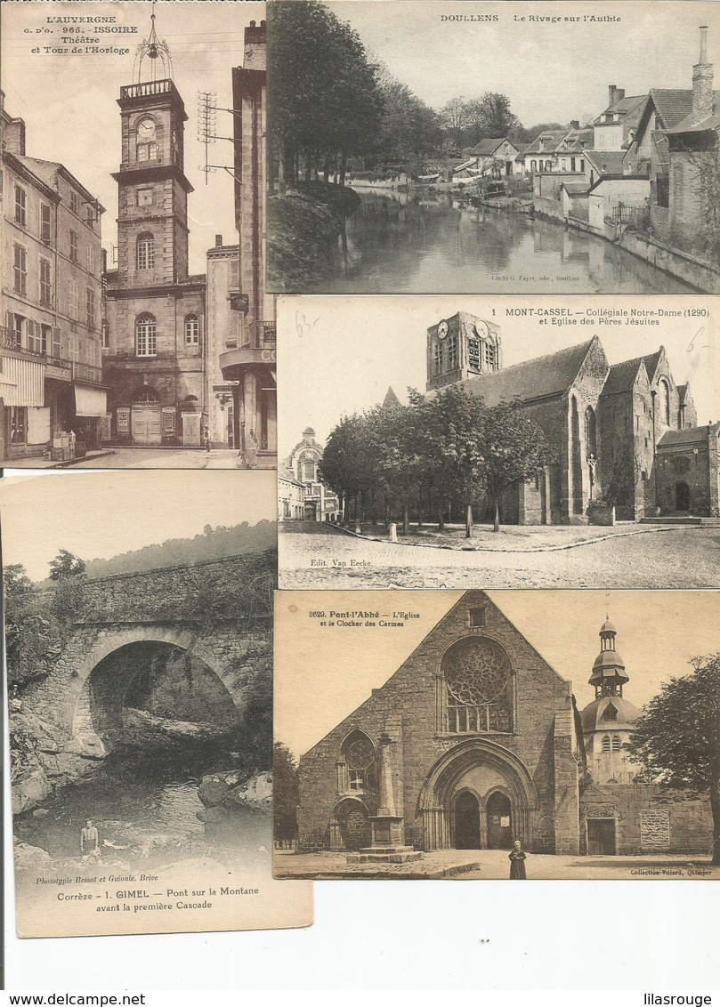 LOT  20 CARTES CPA - Postcards