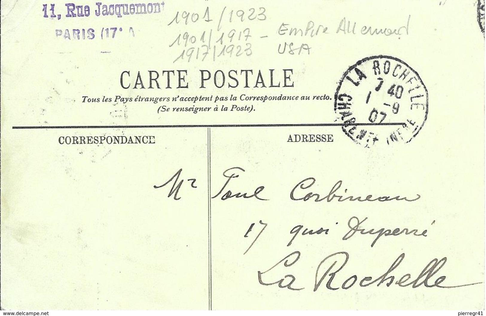 CPA-Cherbourg-Vers1905-PAQUEBOT-Allemand-KONPRINZ WILHELM-1917/puis 1917/1923 USA-TBE - Paquebots