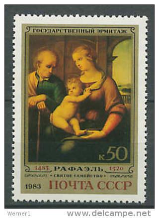 USSR Russia 1983 Paintings Raphael - Raffael Stamp MNH - Arts