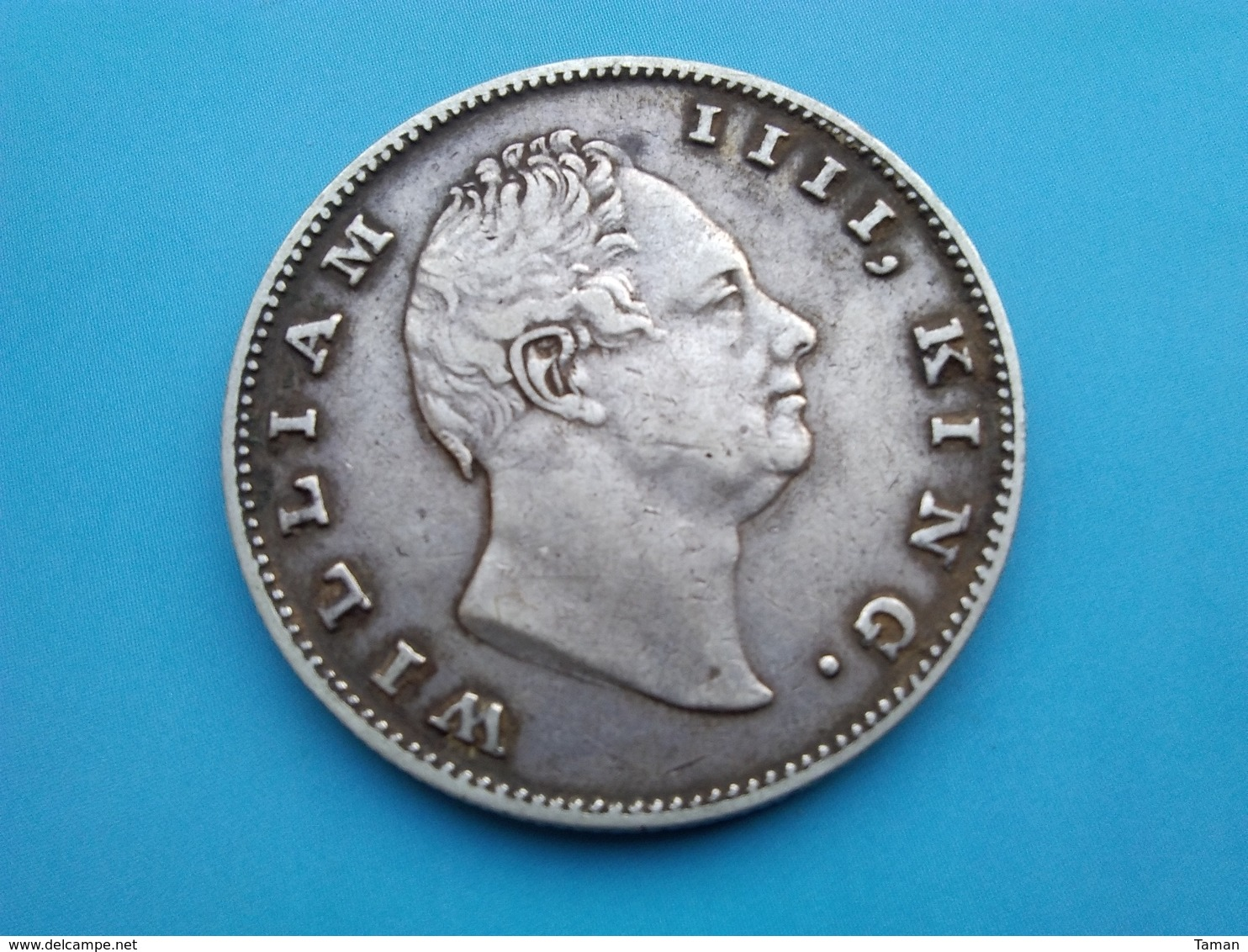 INDE   1  Roupie   1835   William III - India