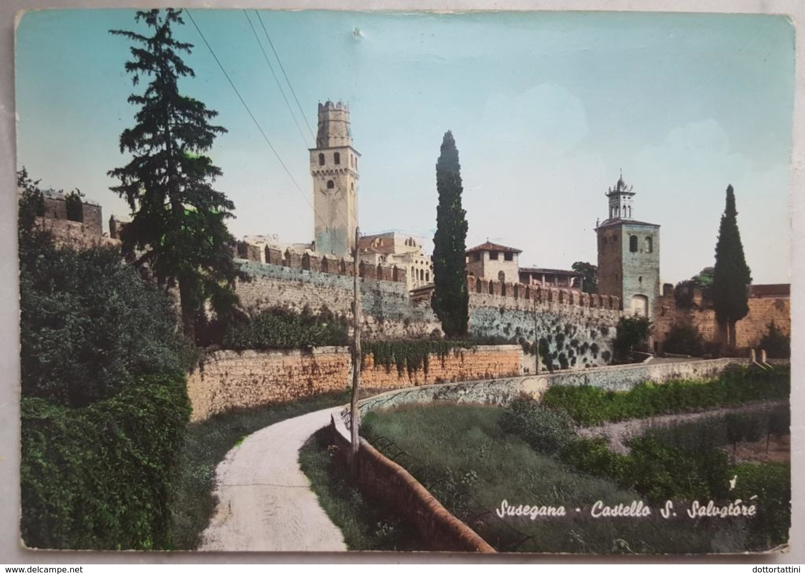 SUSEGANA (TREVISO) - Castello Di San Salvatore   Vg V2 - Treviso