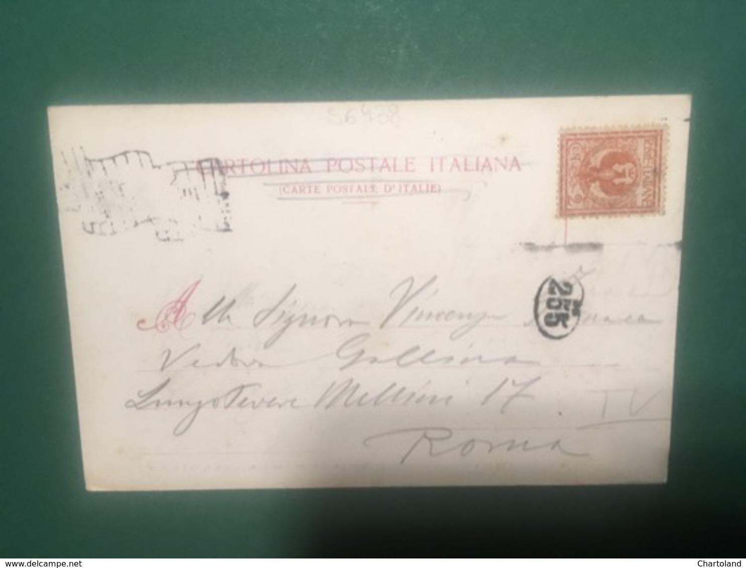 Cartolina Riese - Interno Della Chiesa Parrocchiale - Prima Messa Di PioX - 1925 - Treviso