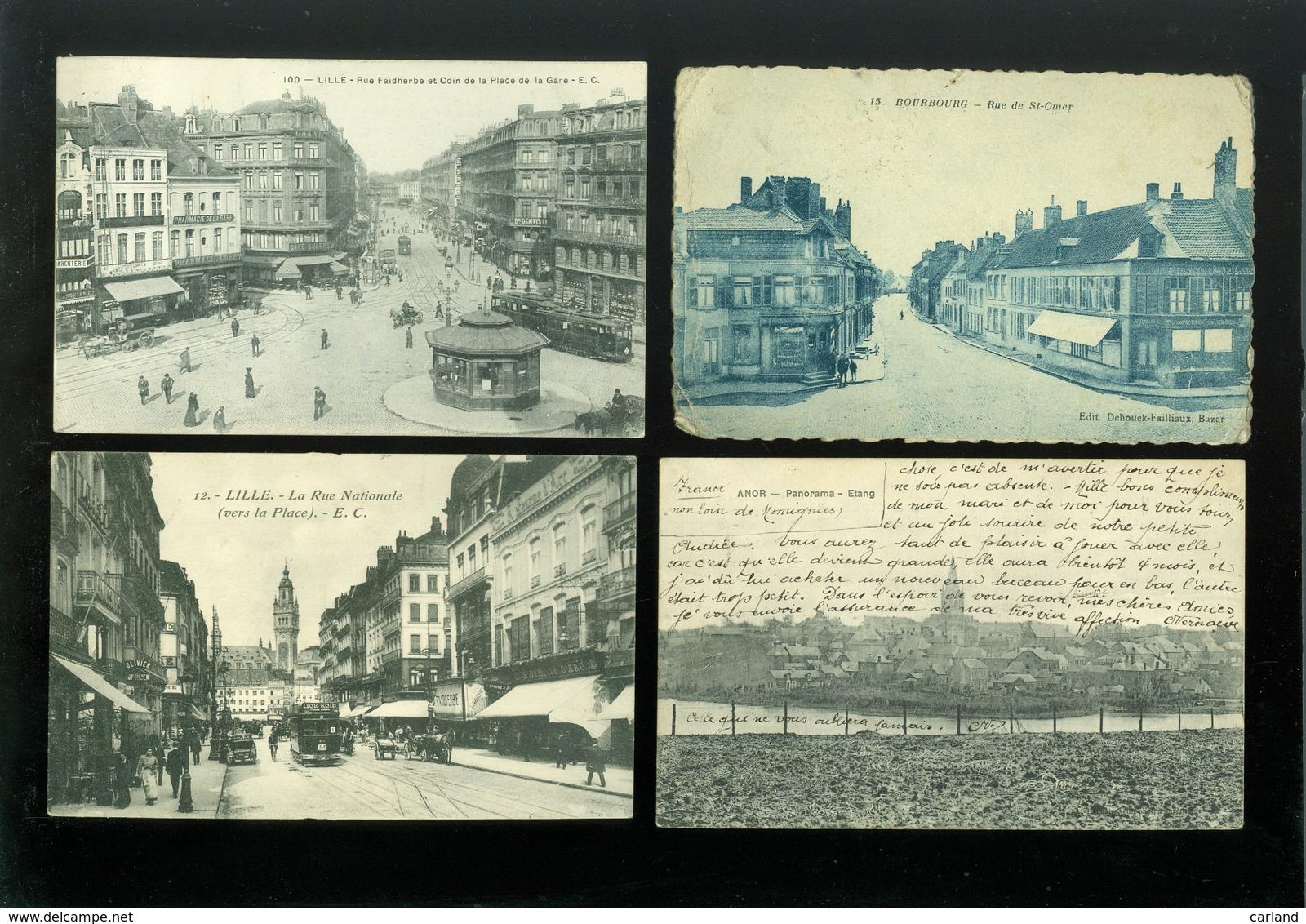 Lot De 20 Cartes Postales De France  Nord   Lot Van 20 Postkaarten Van Frankrijk ( 59 )  - 20 Scans - 5 - 99 Cartes