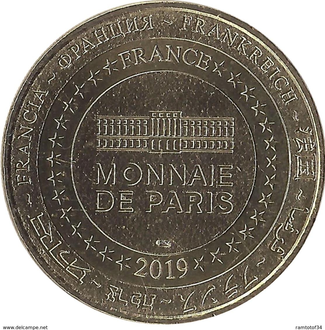 2019 MDP128 - DONZENAC - Jeunes Sapeurs Pompiers (Or) / MONNAIE DE PARIS - 2019