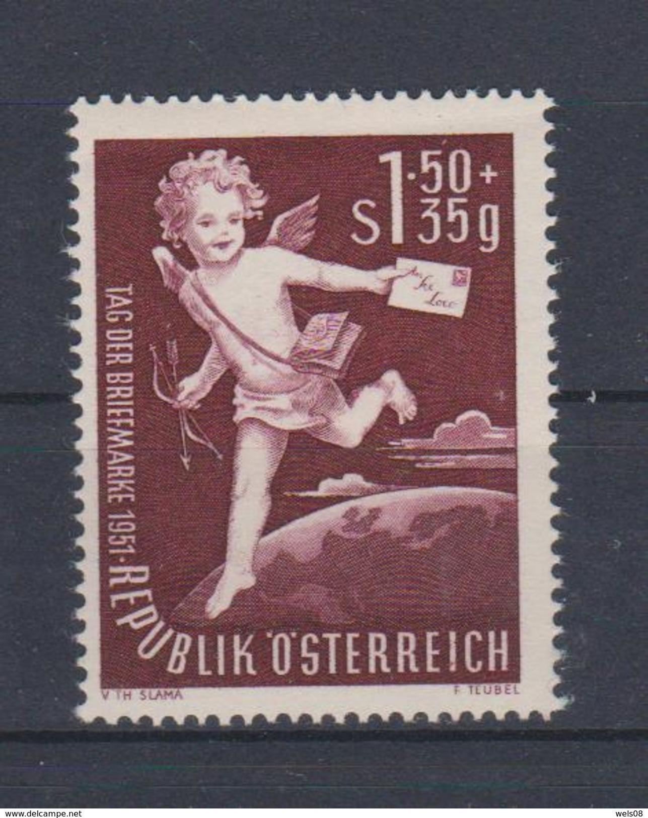 """Österreich 1952:  """"Tag Der Briefmarke""""  988 LUXUS Postfrisch - 1945-60 Unused Stamps"""