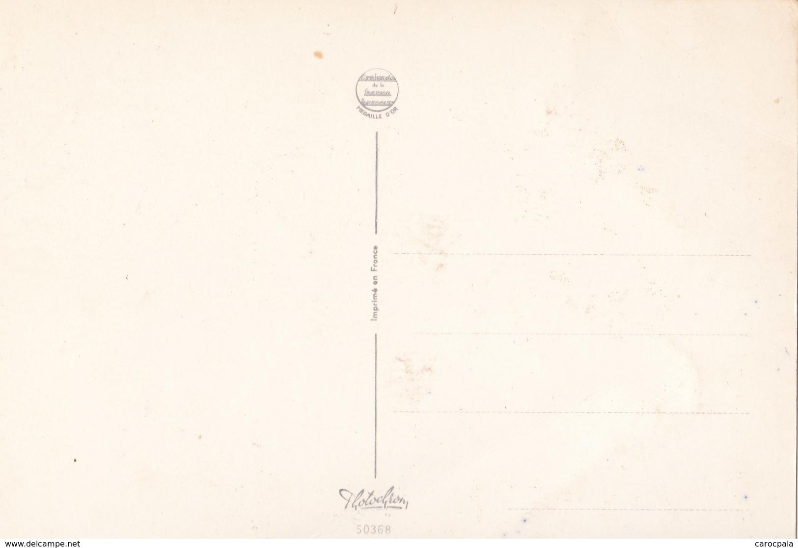 """Carte Vers 1970 Signée Carrière """"pétanque,trous Et Bosses Pimentent La Partie"""" - Carrière, Louis"""