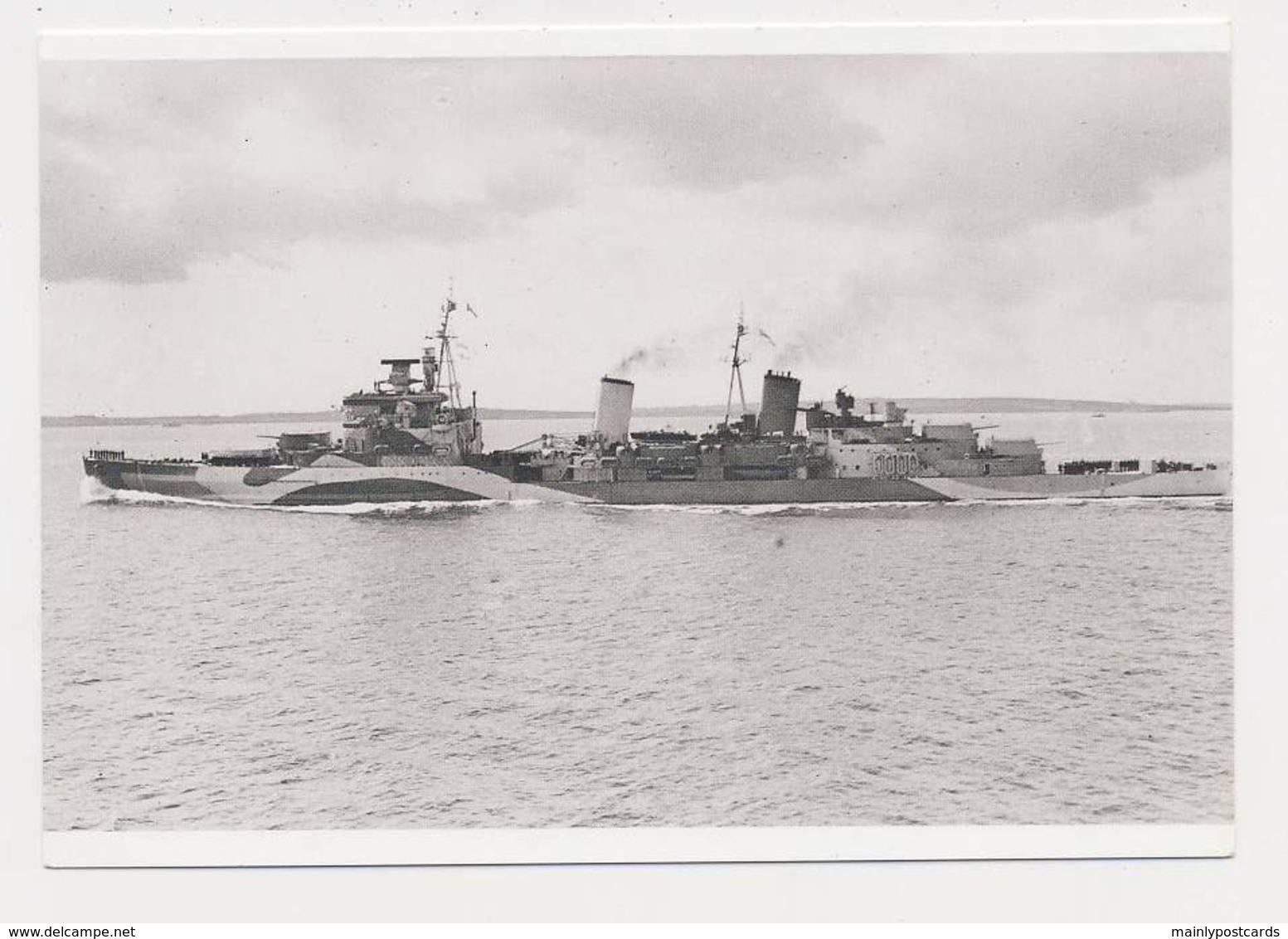 AK08  Shipping/military - HMS Belfast - Warships